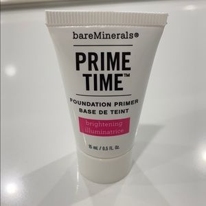 NEW BARE MINERALS PRIME TIME FOUNDATION PRIMER!